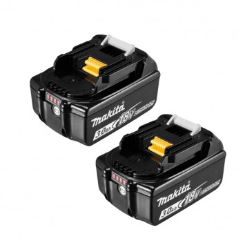 Lot de 2 batteries 18V 3.0Ah - MAKITA BL1830BX2
