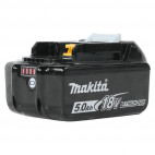 Pack de 10 Batteries 18V Li-Ion 5.0 Ah avec indicateur de charge - Makita BL1850B