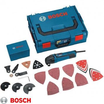 Découpeur-ponceur 250W avec 48 accessoires dans coffret L-Boxx - BOSCH GOP250CE