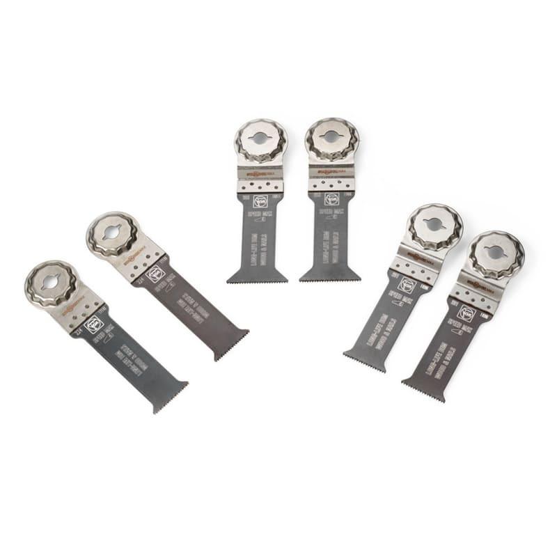 Combo E-Cut starlock max métal et bois 6 lames de scie plongeantes - FEIN 35222967050