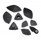 Set de 63 accessoires pour le ponçage dans les coins et sur les arêtes - FEIN 35222967040