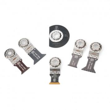 Set de 6 lames de scie pour le travail du métal - FEIN 35222967020
