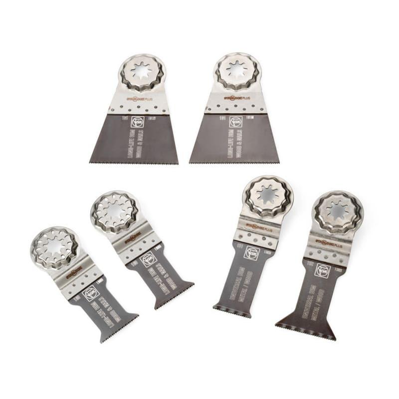 Pack de 6 lames E-Cut starlock plus métal et bois - FEIN 35222967030