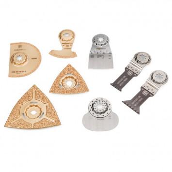 Set professionnel de 8 accessoires StarlockMax plomberie - FEIN 35222967140