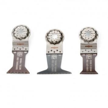 Combo de 3 lames E-Cut Starlock bois et métal - FEIN 35222967100