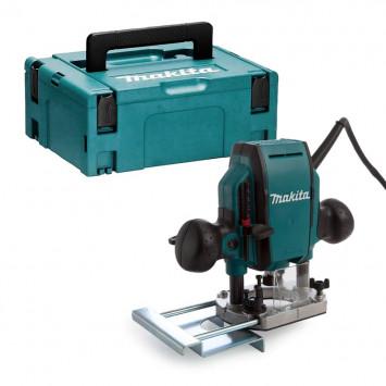 Défonceuse 900W Ø8 mm dans coffret Makpac - MAKITA RP0900XJ