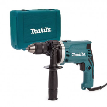 Perceuse à percussion 710W Ø 13 mm dans coffret - MAKITA HP1631K