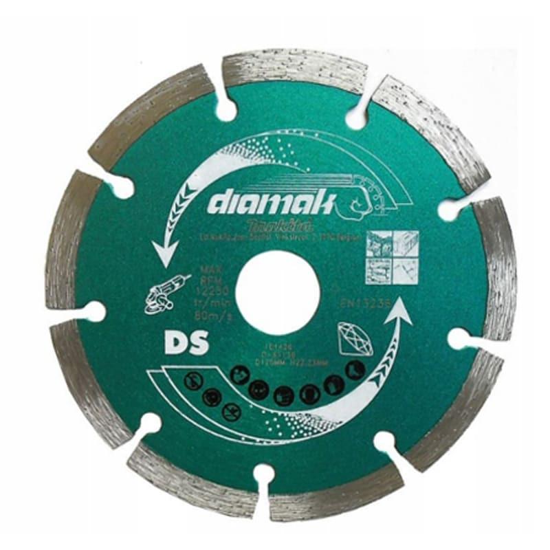 Disque diamant pour tronçonnage du béton Ø230 - MAKITA D-65246