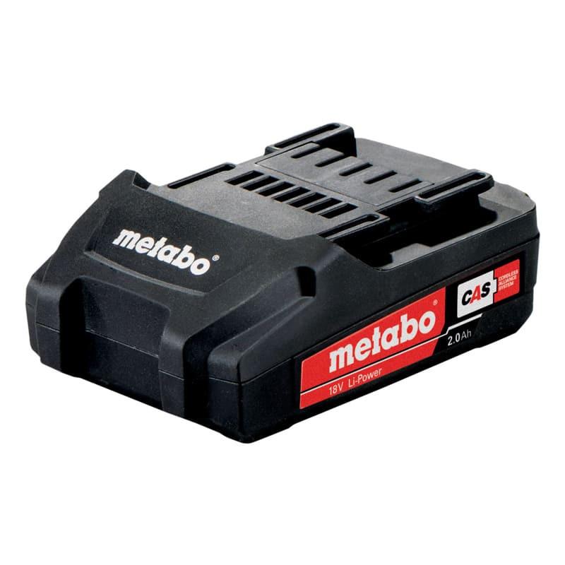 Batterie pour outils sans fil 18V Li-Power 2,0 Ah - METABO 625596000