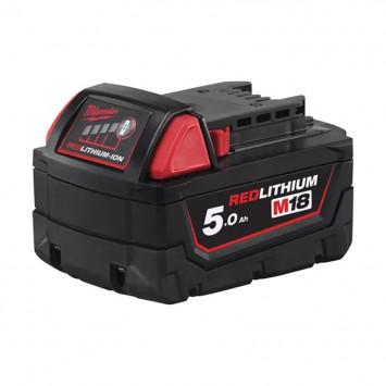 Batterie pour outil sans fil 18V Li-Ion 5.0Ah M18 B5 - MILWAUKEE 4932430483