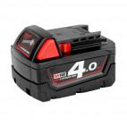 Batterie pour outil sans fil 18V Li-Ion 4.0Ah M18 B4 - MILWAUKEE 4932430063
