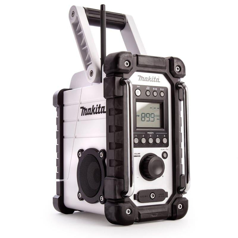 Radio édition blanche 18 V (machine seule) - MAKITA DMR109W