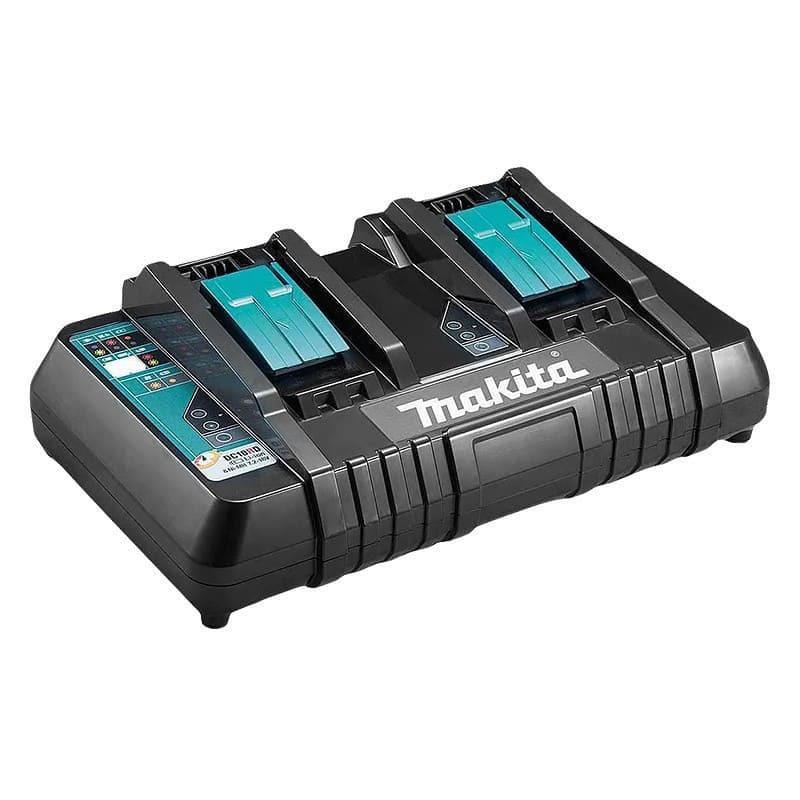 Chargeur rapide pour 2 batteries Li-Ion 14,4 à 18 V - MAKITA DC18RD