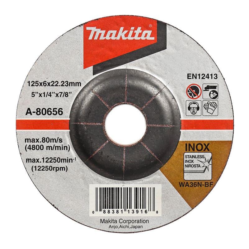 Disque à tronçonner à moyeu déporté 125x6x22,23mm - Makita A-80656