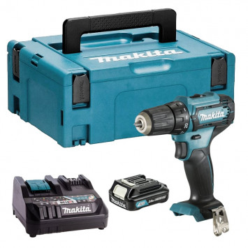 Perceuse 12V CXT Li-Ion Ø10 mm (1x2,0 Ah) - MAKITA DDF333DNJ