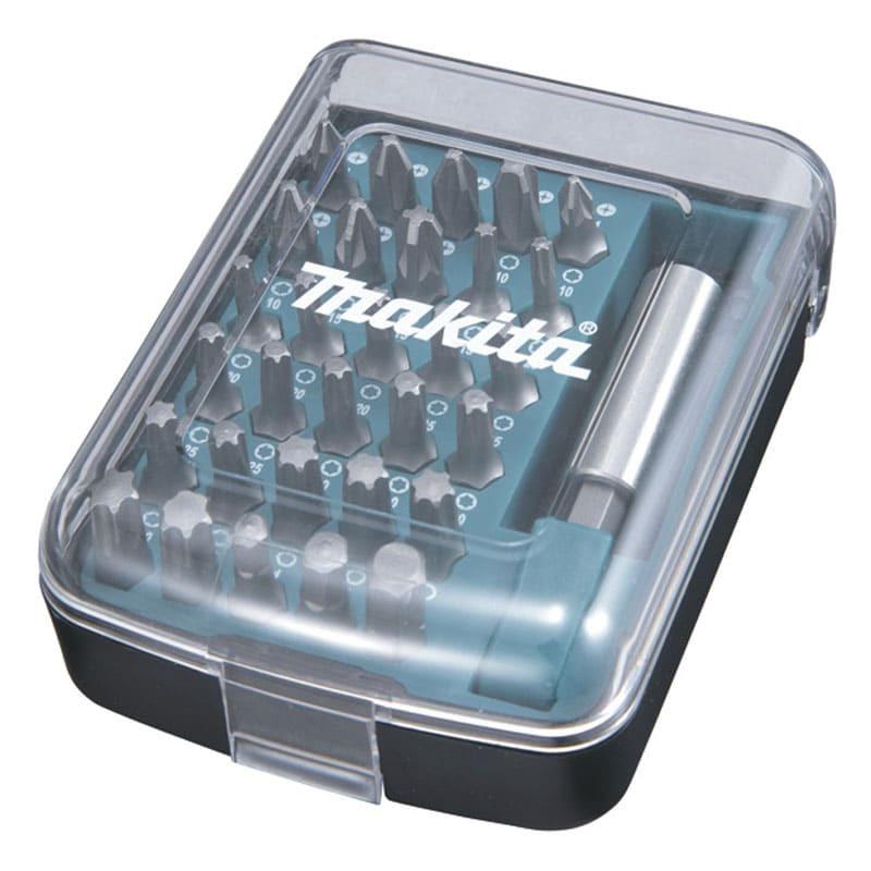 Coffret 30 embouts de vissage avec porte-embout magnétique - MAKITA D-34936