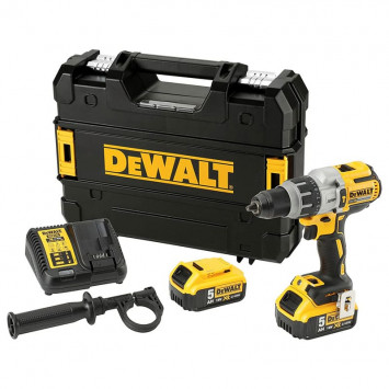 Perceuse à percussion 18V XR BL (2x5,0Ah) - DEWALT DCD996P2