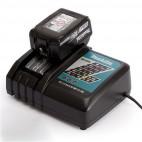 Pack power (2x4,0 Ah) avec chargeur simple - MAKITA 197505-2