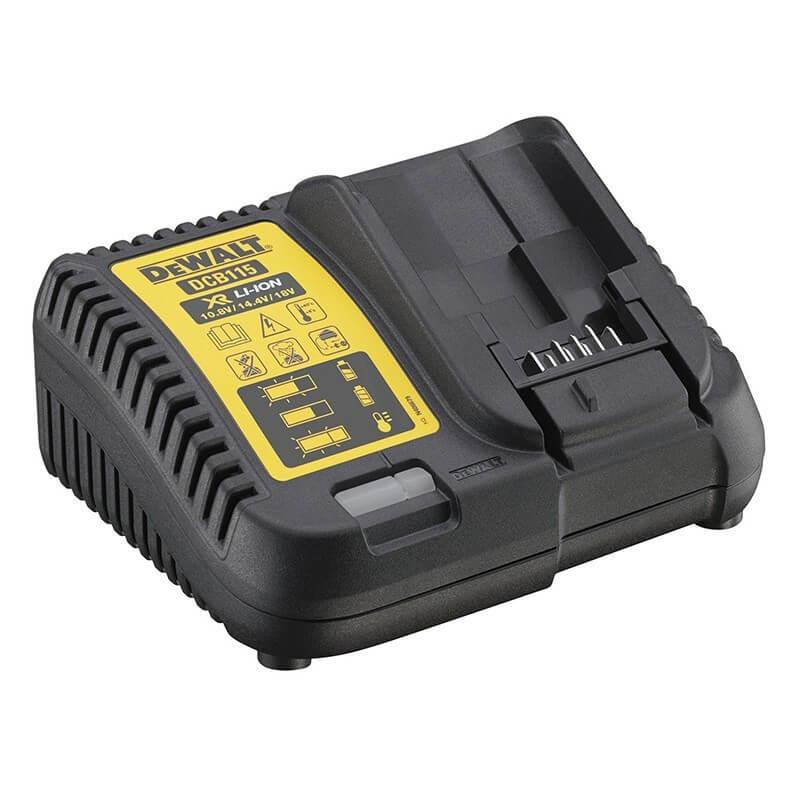Chargeur de batteries XR Li-Ion 10,8V - 14,4 - 18V - DEWALT DCB115