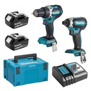 Pack 2 outils 18V (DTD153 + DDF484) 2x5,0 Ah - MAKITA DLX2189TJ