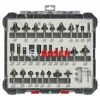 Coffret de 30 fraises mixtes de 6 mm - Bosch Professional 2607017474