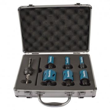 Kit électricien de 6 scies cloches haute qualité - MAKITA B-11792