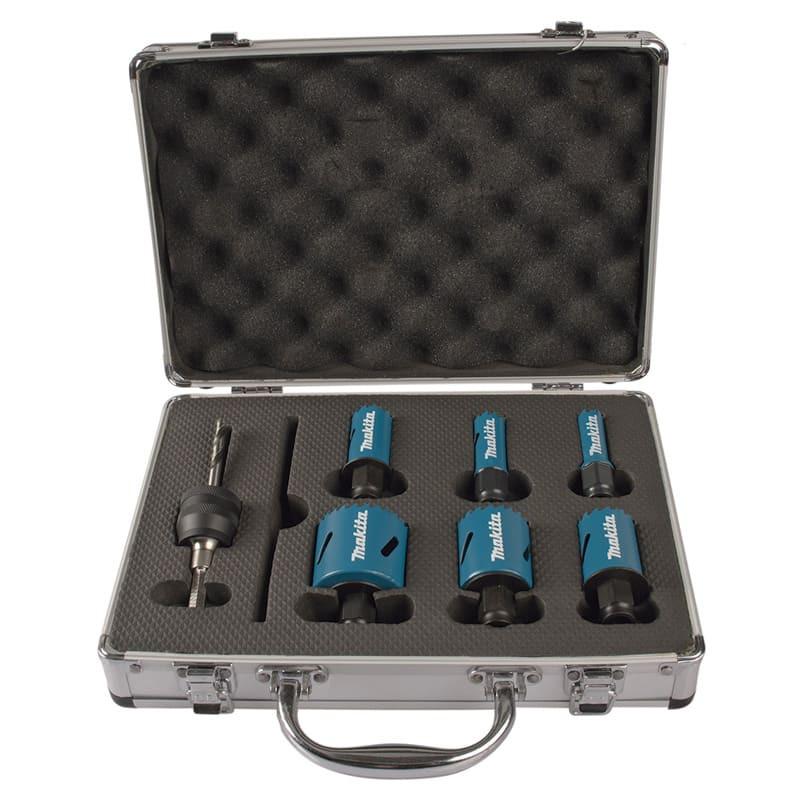 Kit électricien de 6 scies cloches haute qualité - MAKITA B-11972