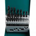 Jeu de forets HSS-R dans boîtier métallique (19 pcs) - MAKITA D-54081