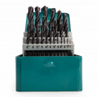 Jeu de forets HSS-R dans boîtier métallique (25 pcs) - MAKITA D-54097