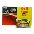 Energizer AA Batteries MAX+ Powerseal Technology High Performance x24 (Lot de 8 piles)
