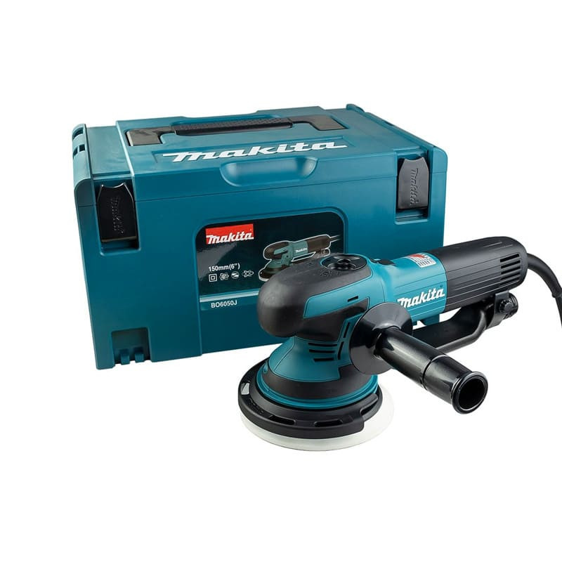 Ponceuse polisseuse excentrique 750W 150mm - MAKITA BO6050J