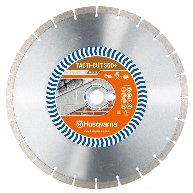 Disque Diamant béton Ø 350 mm TACTICUT S50+ - HUSQVARNA 579815620