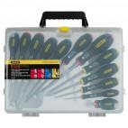 Jeu de 12 tournevis pour électricien - STANLEY 5-65-426