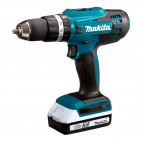 Perceuse à percussion 18V Li-Ion (2x1,5 Ah) Ø 13 mm - MAKITA HP488DWE
