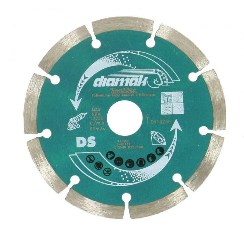 Disque diamant 125mm diamant sec - MAKITA D-65230