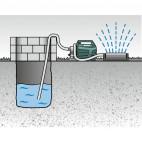 Pompe de jardin 1300 W P 4500 INOX - METABO 600965000