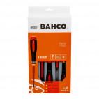 Jeu de tournevis isolés VDE ERGO™ manche tri-matière (5 pcs) - BAHCO BAHBE-9881S