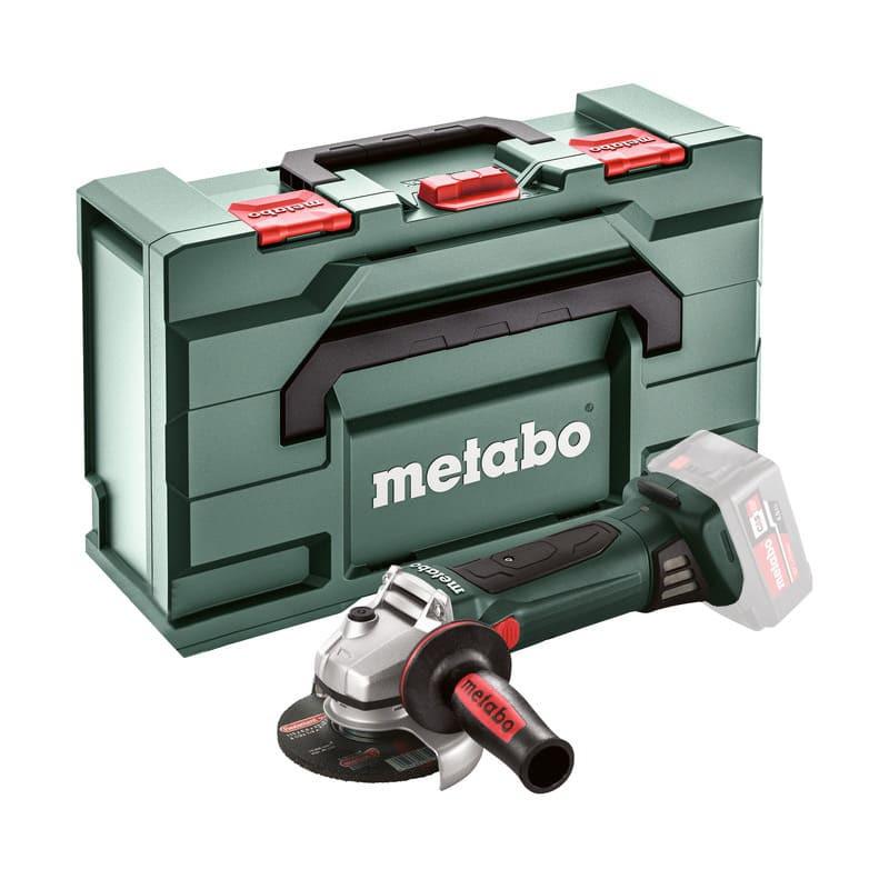 Meuleuse d'angle 18V (Machine seule ) Ø150 mm - METABO W 18 LTX 150 Quick