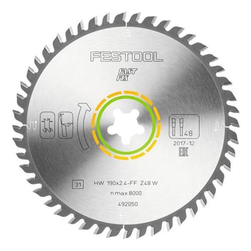 lame de scie circulaire Festool