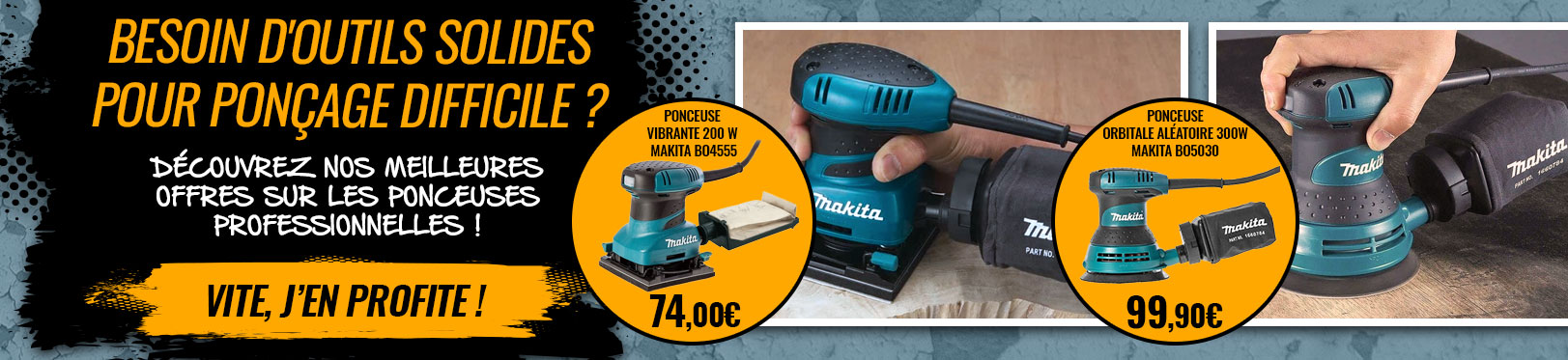 offre ponceuse